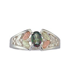 Black Hills Gold Mystic Fire Topaz Ring