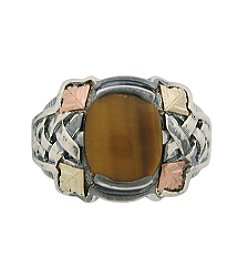 Black Hills Gold Men's Tiger's-Eye Ring