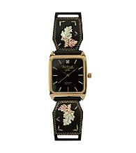 Black Hills Gold Men's Powder-coated Watch