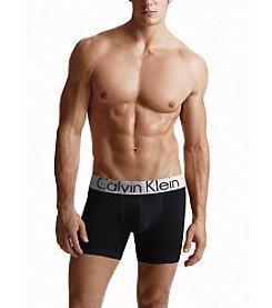 Calvin Klein Men's Steel Micro Boxer Briefs