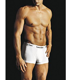Calvin Klein Men's Micro Modal Trunk - White