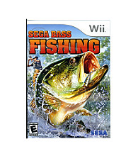 Nintendo® Wii® SEGA Bass Fishing