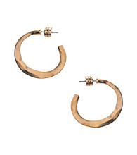 Kenneth Cole® Open Hoop Earrings - Goldtone