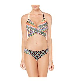 Coastal Zone Diamond Wrap Top and Tab Side Bottom