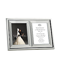 Vera Wang® With Love Double Invitation Frame