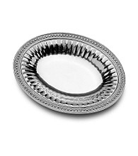 Wilton Armetale® Flutes & Pearls Collection - Oval Bread Tray