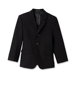 Calvin Klein Boys' 2T-7 Black Dress Jacket