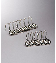 Croscill® Swirl Shower Curtain Hooks