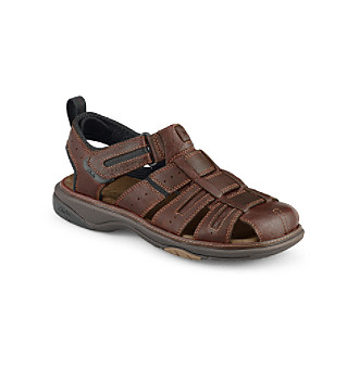 "Clarks® Men's ""Charles"" Fisherman Sandals"