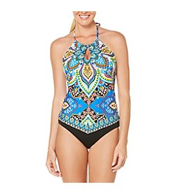 Coastal Zone® Paisley Tankini and Hipster Bottoms