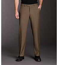 Kenneth Cole REACTION® Men's Straight Fit Smooth Twill Pant