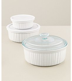 CorningWare® French White® 6-pc. Bakeware Bowl Set