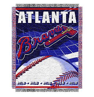 Atlanta Braves Logo Throw