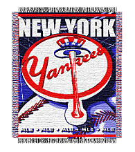 New York Yankees® Logo Throw
