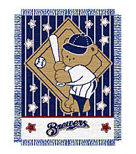 Milwaukee Brewers® Baby Teddy Bear Throw