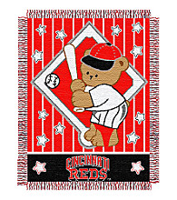 Cincinnati Reds® Baby Teddy Bear Throw