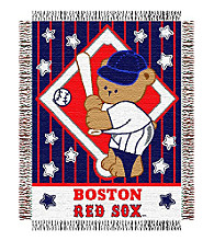 Boston Red Sox™ Baby Teddy Bear Throw