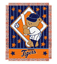 Detroit Tigers® Baby Teddy Bear Throw