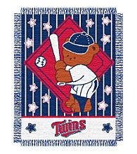 Minnesota Twins® Baby Teddy Bear Throw