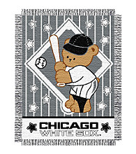 Chicago White Sox™ Baby Teddy Bear Throw