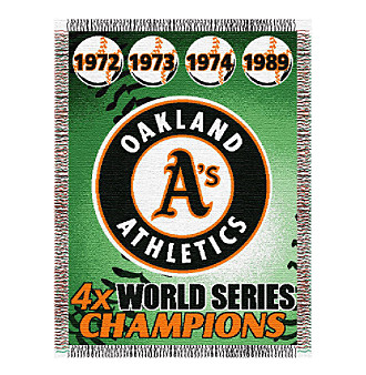 Oakland Athletics Commemorative Throw