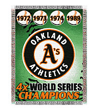 Oakland Athletics® Commemorative Throw