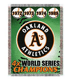 MLB® Oakland Athletics Commemorative Throw