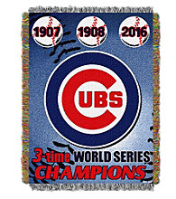 Chicago Cubs™ Commemorative Throw