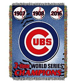 Chicago Cubs Commemorative Throw
