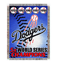 Los Angeles Dodgers™ Commemorative Throw