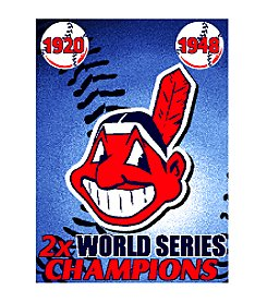 Cleveland Indians Commemorative Throw