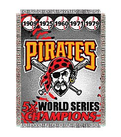 Pittsburgh Pirates Commemorative Throw