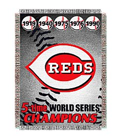 Cincinnati Reds Commemorative Throw