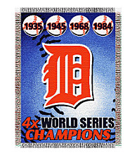 Detroit Tigers® Commemorative Throw