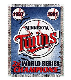 MLB® Minnesota Twins Commemorative Throw