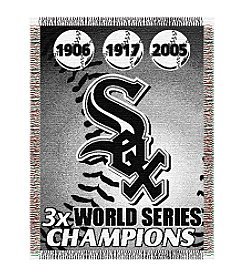 Chicago White Sox Commemorative Throw