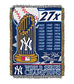 New York Yankees Commemorative Throw