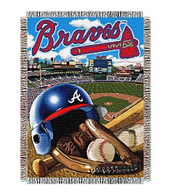 Atlanta Braves Home Field Advantage Throw