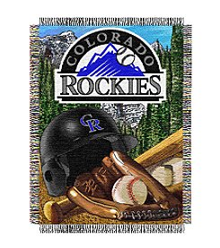 MLB® Colorado Rockies Home Field Advantage Throw