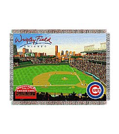 Chicago Cubs Wrigley Field Throw