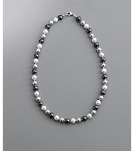 Studio Works® Tonal Bead Necklace - Gray