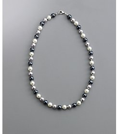 Studio Works® Tonal Gray Bead Necklace