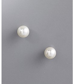 Studio Works® 8mm Stud Earrings - White