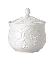Lenox® Opal Innocence™ Carved Covered Sugar Bowl