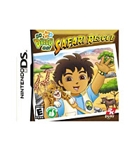 Nintendo DS® Go Diego Go!: Safari Rescue