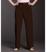 Rafaella® Plus Size 5-pocket Wide-leg Pants