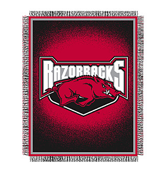 University of Arkansas Logo Throw