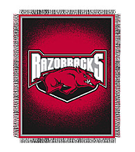 University of Arkansas Logo Throw