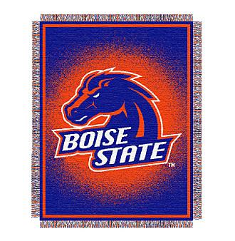 Boise State University Logo Throw