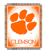 Clemson University Logo Throw